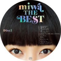 miwa THE BEST (通常版) / miwa ラベル 01 DISC2 曲目あり