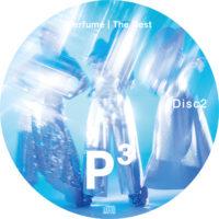 """Perfume The Best """"P Cubed"""" / Perfume ラベル 01 Disc2 曲目なし"""
