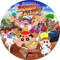 映画クレヨンしんちゃん 新婚旅行ハリケーン 失われたひろし ラベル 01 DVD