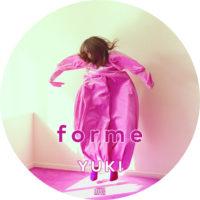 forme (通常盤) / YUKI ラベル 01 曲目なし