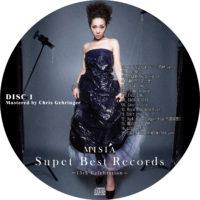 Super Best Records -15th Celebration- (通常版) / MISIA ラベル 01 DISC1 曲目あり