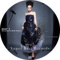 Super Best Records -15th Celebration- (通常版) / MISIA ラベル 01 DISC2 曲目あり