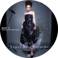 Super Best Records -15th Celebration- (通常版) / MISIA ラベル 01 DISC3 曲目あり