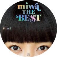 miwa THE BEST (通常版) / miwa ラベル 01 DISC2 曲目なし
