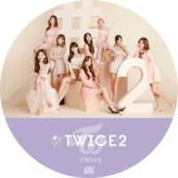 #TWICE2 (通常盤) / TWICE ラベル 01 曲目なし