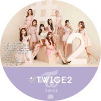 #TWICE2 (通常盤) / TWICE ラベル 01 曲目あり曲目あり